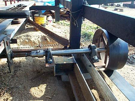 Sawmill Flat Belt Drive